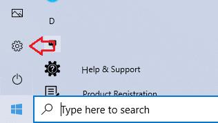 Windows 10 Korean keyboard step 1